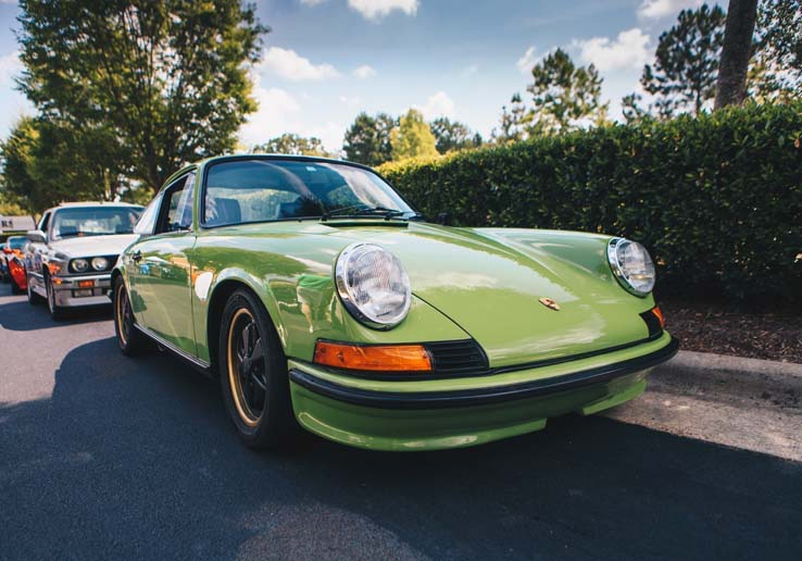 Now the paint color isn't the only thing green on your Porsche