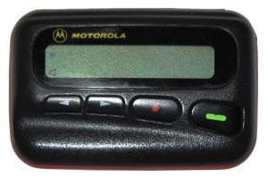Japanese pager users will need a gadget update ASAP