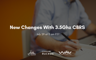 New Changes With 3.5Ghz CBRS