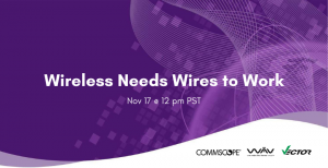 Wireless Needs Wires to Work