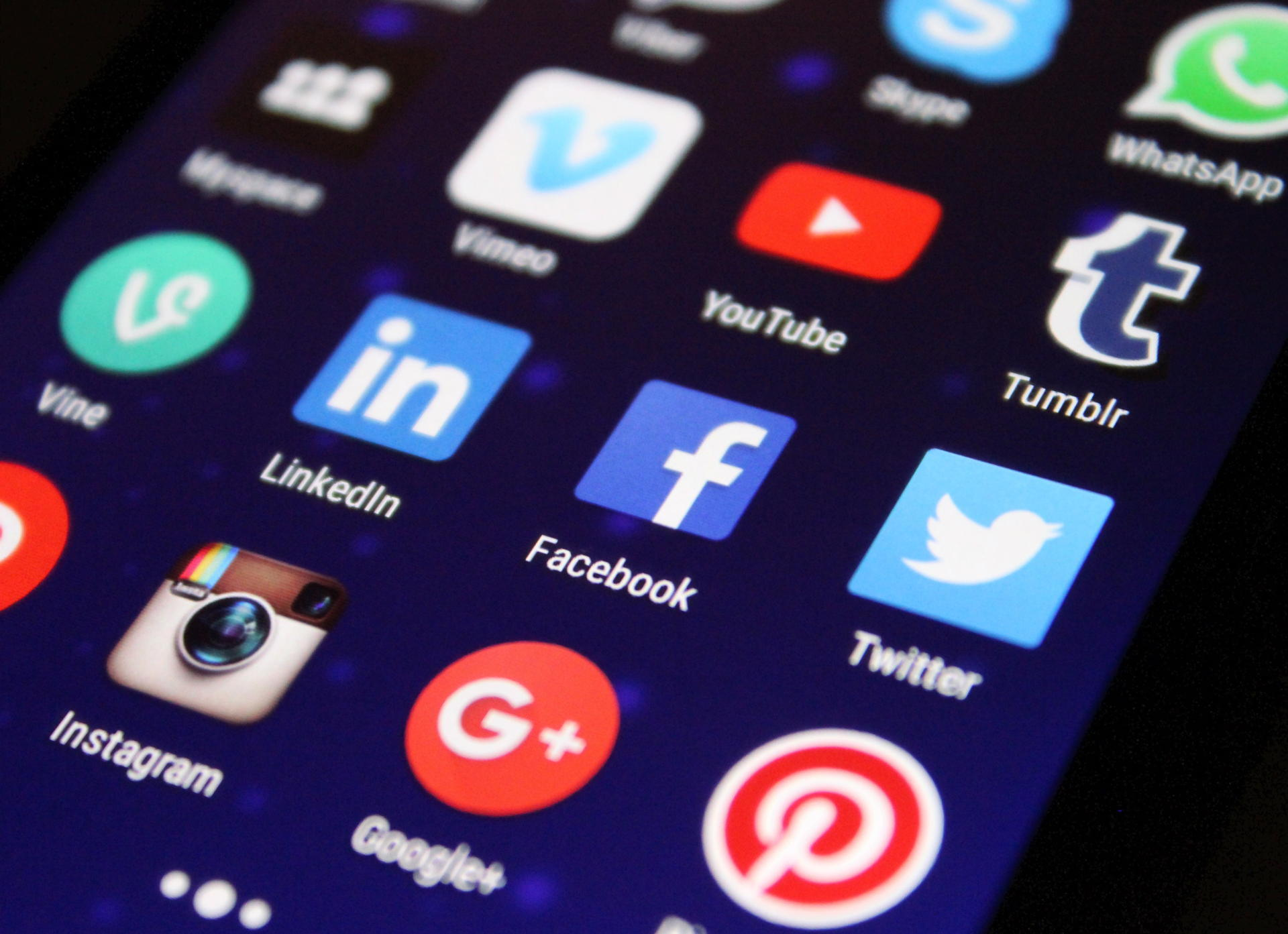 The Impact of Social Media on Business Networks & Security